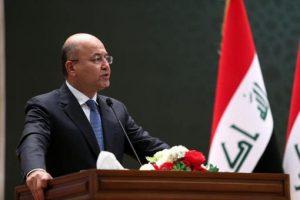 PRESIDENTE DE IRAK SE REUNIRÁ CON TRUMP EN DAVOS