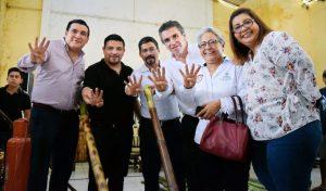 GÓMEZ CAZARÍN CUMPLE SU PROMESA CON LAS FAMILIAS DE LERDO DE TEJEDA