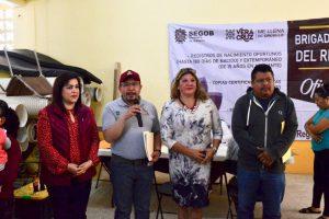 EN LA CUARTA TRANSFORMACIÓN TRABAJAMOS PARA MEJORAR LA VIDA DE LAS Y LOS VERACRUZANOS: ROSALINDA GALINDO