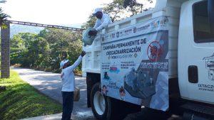 ARRANCAN ACCIONES DE DESCACHARRIZACIÓN EN TUXPANGUILLO, IXTAC