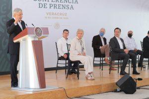 VERACRUZ CON LUGAR PRIVILEGIADO EN LA TRANSFORMACIÓN EMPRENDIDA POR EL PRESIDENTE.
