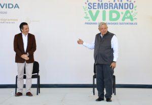 AMLO VINO A RECONOCER EL TRABAJO DEL GOBERNADOR CUITLÁHUAC GARCÍA.