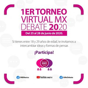 CONVOCAN A LOS JOVENES DE ZONGOLICA A PARTICIPAR EN EL PRIMER TORNEO VIRTUAL DEBATE 2020