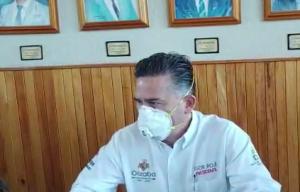 EL ALCALDE IGOR ROJÍ EXHORTÓ A LA POBLACIÓN CUIDARSE OARA DISMINUIR LOS CONTAGIOS DE COVID-19.