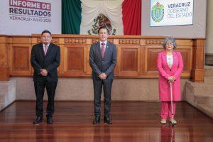GOBIERNO ESTATAL EXPONE CAMBIOS SUSTANTIVOS EN VERACRUZ.