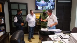 Guardia Nacional, SSP y  Ayuntamiento de Ixtaczoquitlán coordinan acciones para prevenir el delito