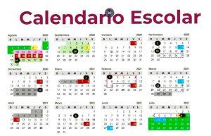 CALENDARIO CICLO ESCOLAR 2020-2021