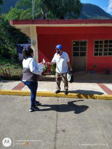 Activan brigada de riesgos sanitarios en el municipio de Huiloapan.