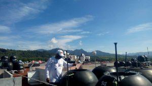 Fumigan de manera permanente en Ixtaczoquitlán contra el dengue