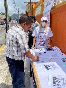 López Coronado refrenda su compromiso con la 4T.
