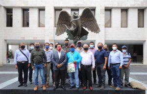Defenderé el derecho de agentes municipales de Papantla a ser remunerados: Eric Domínguez.