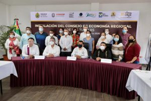 Consejo de Economía Regional detonará el desarrollo de los Tuxtlas: Gómez Cazarín.