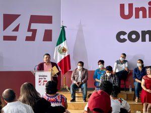 Muñoz Ledo y Esteban R. Zepeta, sinónimo de unidad en MORENA.
