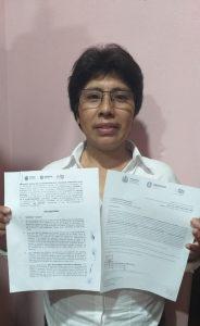 Autoridades de Rafael Delgado y la Secretaría de Desarrollo Social firman convenio para mejorar vivienda y piso firme.