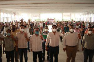 No permitiremos que en Veracruz se repitan los resultados de Hidalgo y Coahuila: Esteban R. Zepeta.