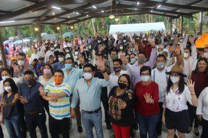 En México y Veracruz, hay un movimiento transformador, fuerte y firme en nuestra nación: Ríos Uribe.