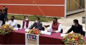 Gobernador de Veracruz fortalece la educación en la zona serrana.