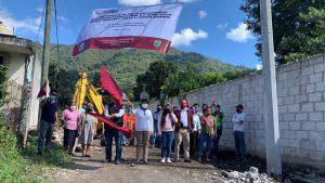 Autoridades municipales de Rafael Delgado dieron banderazo a obras.
