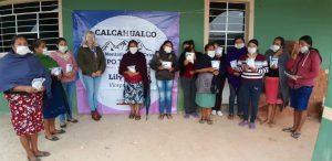 Grupo TIAMAT A. C. capacita en tema de cultivo de hortalizas de traspatio.
