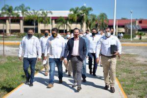 La educación pública en Veracruz se está transformando: Ríos Uribe.