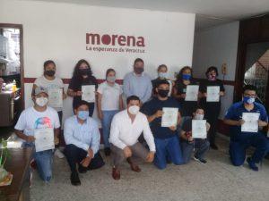 Acceso a capacitación para las y los veracruzanos, permite mayor condición y crecimiento en su vida laboral: Ríos Uribe.