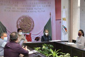 Suscriben en Congreso de Veracruz dictámenes Comisión de Salud.