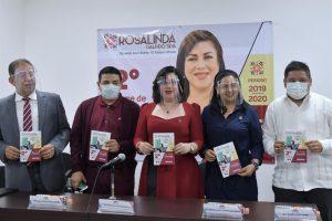 Rosalinda Galindo da a conocer parte de su Segundo Informe de actividades.
