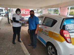 Realizó Ríos Uribe segunda jornada de sanitización de vehículos en Córdoba.