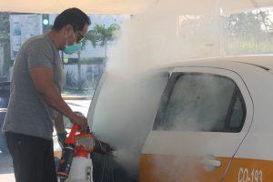 Cero tolerancia contra el Covid; se superó la expectativa tras sanitizar más de 170 unidades: Ríos Uribe.