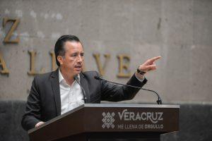 Identificadas tres líneas de investigación sobre el caso Jamapa: gobernador Cuitláhuac García.