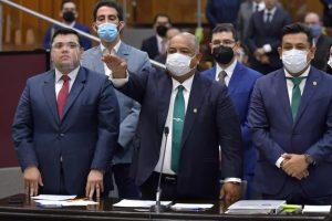 Veracruz, con rumbo y gobernabilidad: Cisneros Burgos.
