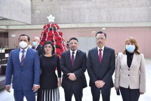 Comparece el gobernador Cuitláhuac García ante diputadas y diputados.