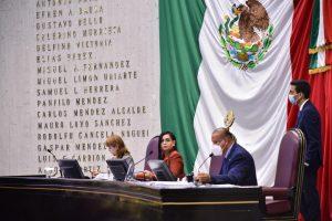 Aprueba Congreso de Veracruz minuta relativa al fuero presidencial.