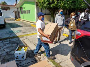 Entrega DIF de Orizaba más de 700 desayunos calientes .