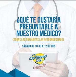 ¿Qué te Gustaría Preguntarle a Nuestro Médico?