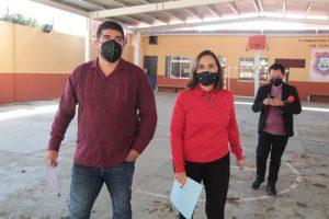 Supervisa SEV escuelas de Educación Básica, en Xalapa.