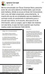 Con Fakenews atacan a jefe de prensa del Gobernador Cuitláhuac García.
