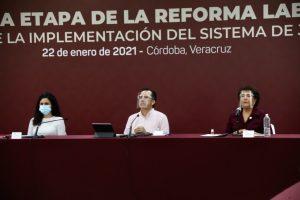 En marcha, segunda etapa de implementación de la Reforma Laboral en Veracruz.