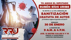 Lucha contra el Covid continúa, importante bajar índices de contagio: Ríos Uribe.