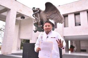Solicita diputado Rubén Ríos licencia temporal al cargo.