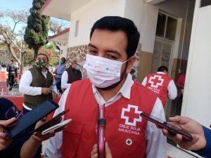 Presidente de la Cruz Roja en Cd. Mendoza informó el incremento de casos COVID.
