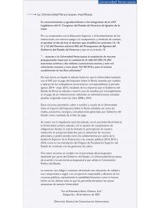 Rectoría reconoce a Diputados de MORENA, por apoyar la ampliación presupuestal de la UV.