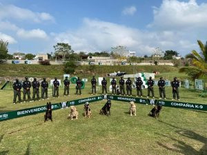 Veracruz, sede del Diplomado Internacional Táctico K-9 Perros Multipropósito.
