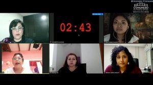 Entrevistan diputadas a aspirantes al Consejo Estatal Ciudadano.