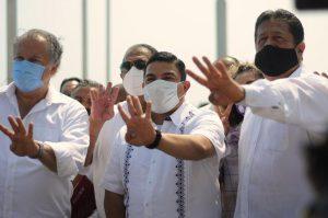 Veracruz logra resultados en seguridad pública, al haber atendido las causas de la pobreza: Gómez Cazarín.