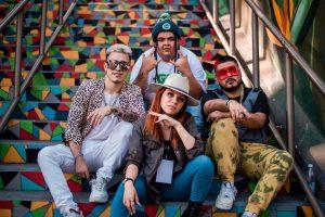 Artistas urbanos graban videoclip en Orizaba e Ixtaczoquitlán.