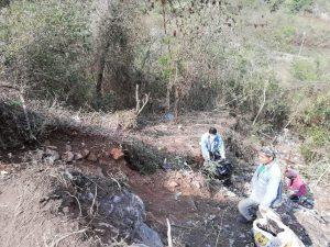 Ayuntamiento de Tlilapan canaliza denuncia de tiradero clandestino.