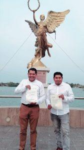 Luis Arturo Santiago candidato oficial por Juntos Hacemos Historia, a la diputación local por el Distrito 21.