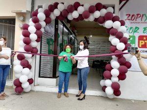 Inauguran casa de campaña de Itzel Domínguez Zopiyactle, candidata a Diputada Federal por el distrito 18 de Zongolica