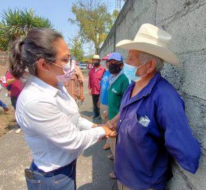 Combatir el contrabando de azúcar de los principales compromisos de la candidata a diputación federal por Zongolica: Itzel Domínguez.